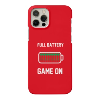 FULL BATTERY GAME ON iPhone Case (Red) Smartphone cases