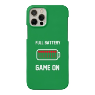 FULL BATTERY GAME ON iPhone Case (Green) Smartphone cases