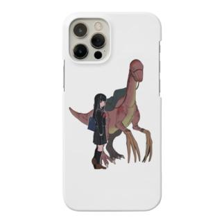 恐竜と登下校_2 Smartphone cases