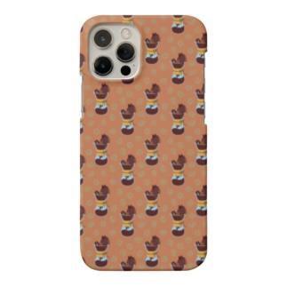 コーヒーブラック(オリジナル) Smartphone cases