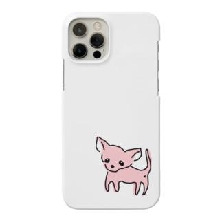 ゆるチワワ(ピンク) Smartphone cases