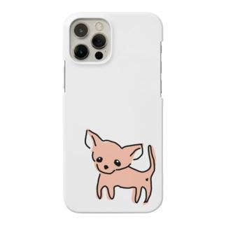 ゆるチワワ(オレンジ) Smartphone cases