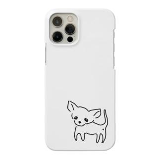 ゆるチワワ(クリア) Smartphone cases