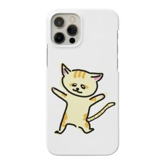 踊るスナネコ Smartphone cases