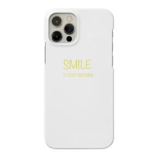 Smile ロゴ Smartphone cases