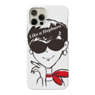 〝ヘプバーンのように〟_2 Smartphone cases
