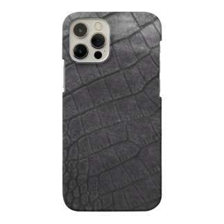 Takahashijunのワニ革プリント Smartphone cases