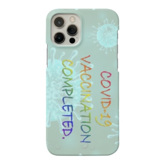 VACCINATION COMPLETED(SC) Smartphone Case
