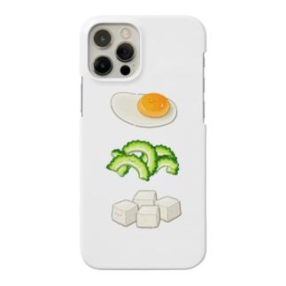 にくらしいゴーヤチャンプル前 Smartphone cases