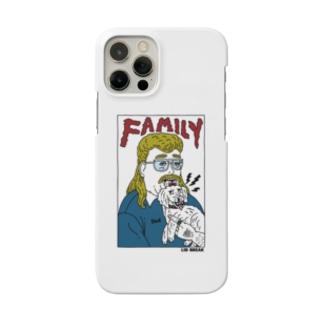 80s family Photo カラーバーション Smartphone cases