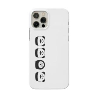 ぱんだるまん12専用 Smartphone cases