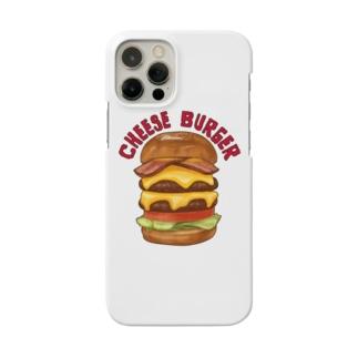 チーズバーガー Smartphone cases