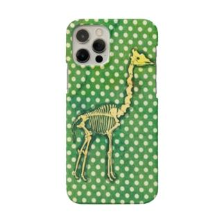 キリンの骨格 Smartphone cases
