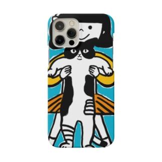 ながーいねこ Smartphone cases