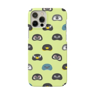 Penguin beans.〈ライトグリーン〉 Smartphone cases