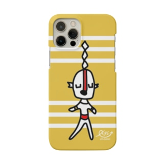 宇宙人イエローストライプ Smartphone cases