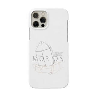 """モリオン(黒水晶) """"ラインイラストVer."""" Smartphone Case"""