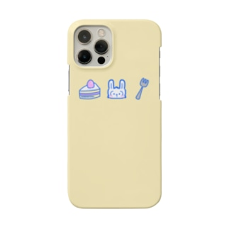 3時のおやつ カスタード Smartphone cases