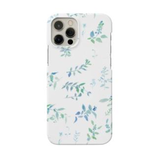 Canako Inoueの春を待つ white Smartphone cases