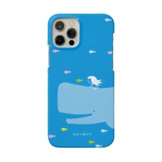 ラクガキモノ:海とくじらとおんなのこ Smartphone Case