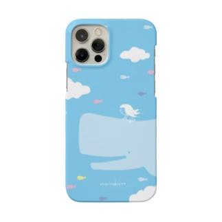 ラクガキモノ:空とくじらとおんなのこ Smartphone Case