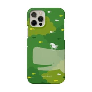 ラクガキモノ:森とくじらとおんなのこ Smartphone Case