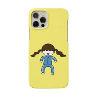 青ジャージの女の子 Smartphone cases