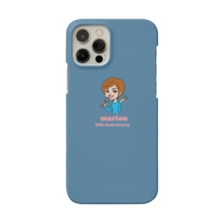 スマホケース/blue【真璃子35th Anniversary】 Smartphone cases