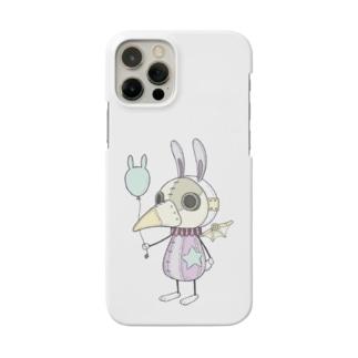 スチパンうさぎ(風船) Smartphone cases
