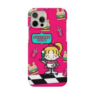 ダイナー RED Smartphone cases