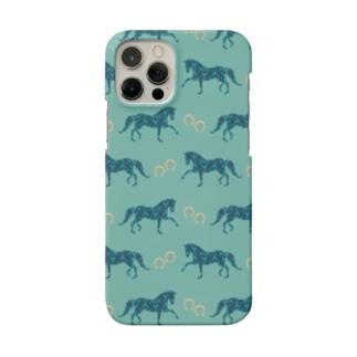 Blue Horse&Shoes Smartphone cases