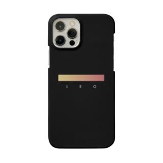 【星座グラデ】獅子座/Leo Smartphone cases