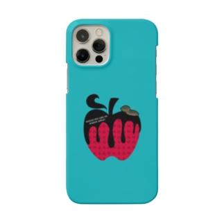 毒リンゴはいかが? 青虫🐛🍎 Smartphone cases