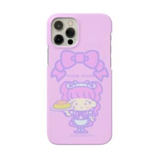 メイドさん ぴんく Smartphone cases