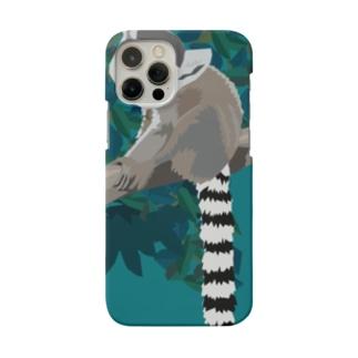 WAO!キツネザル/iPhone 12推奨 Smartphone cases