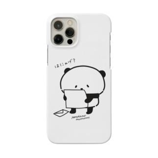 パンダのみみみのはにゃげ? Smartphone cases