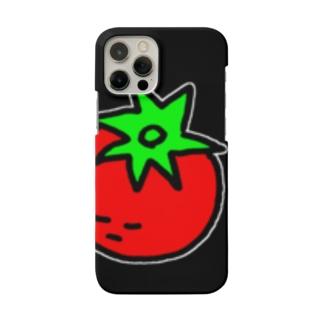 トマトマンショップカードiPhoneケース Smartphone cases