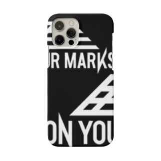 ON YOUR MARKS スマホケース Smartphone cases