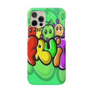 fruits だよん Smartphone cases