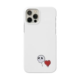 たれドクロ・たれハート Smartphone cases