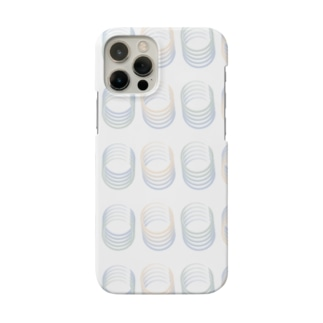 グラデーションまる Smartphone cases