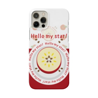 CT105 輪切りのリンゴ*bg Smartphone Case