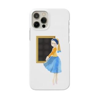 名画 × バレエ【真珠の耳飾りの少女】 Smartphone cases