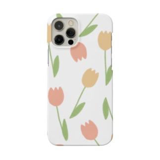 たくさんのチューリップ Smartphone cases