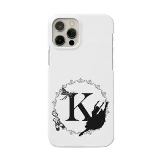 バレエシルエット◆K-1/モノクロ◆ Smartphone cases