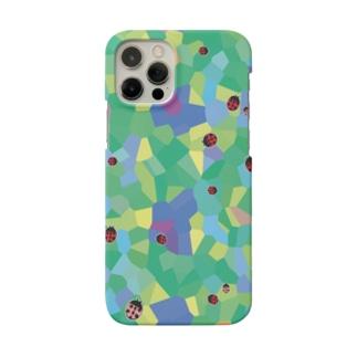 かくかく・てんとうむしくんスマートフォンケース Smartphone cases