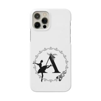 バレエシルエット◆A-1/モノクロ◆ Smartphone cases