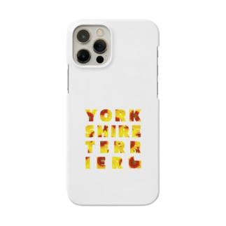 ヨークシャーテリア ひまわり Smartphone cases
