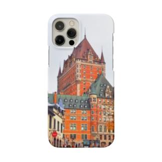 【カナダ】ケベックシティの街並み Smartphone cases