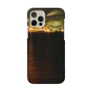 工場夜景3 Smartphone cases